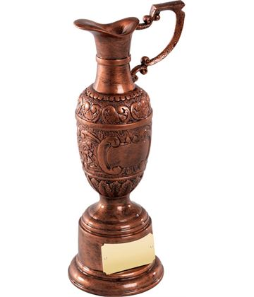 """Resin St Anne's Award in Olde English Copper Finish 21.5cm (8.5"""")"""