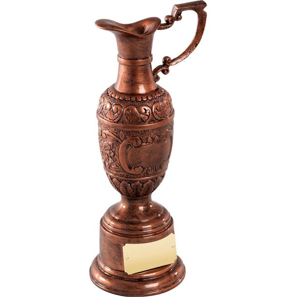 "Resin St Anne's Award in Olde English Copper Finish 16cm (6.25"")"