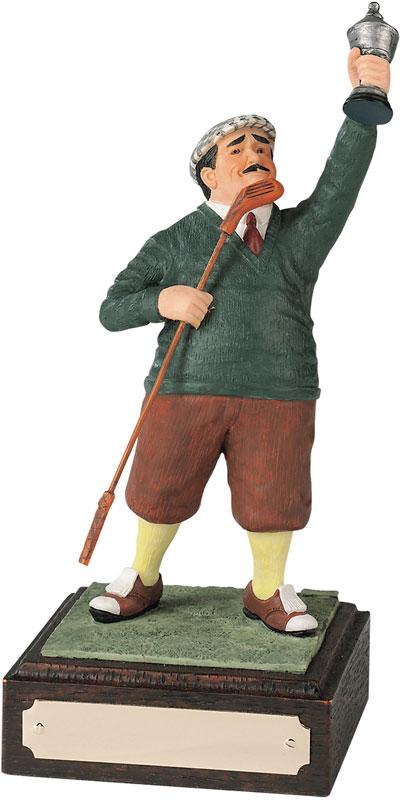 """Winner - Large Novelty Golf Figure 21.5cm (8.5"""")"""