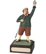 "Winner - Large Novelty Golf Figure 21.5cm (8.5"")"