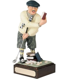 "Golf Made Easy - Large Novelty Golf Figure 21.5cm (8.5"")"