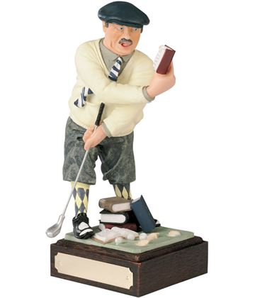 "Golf Made Easy - Large Novelty Golf Figure 21.5cm (8.5"")"