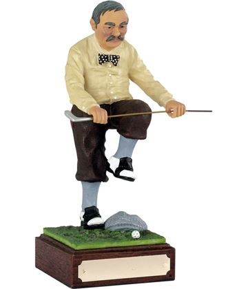 "Sell the Clubs - Large Novelty Golf Figure 21.5cm (8.5"")"