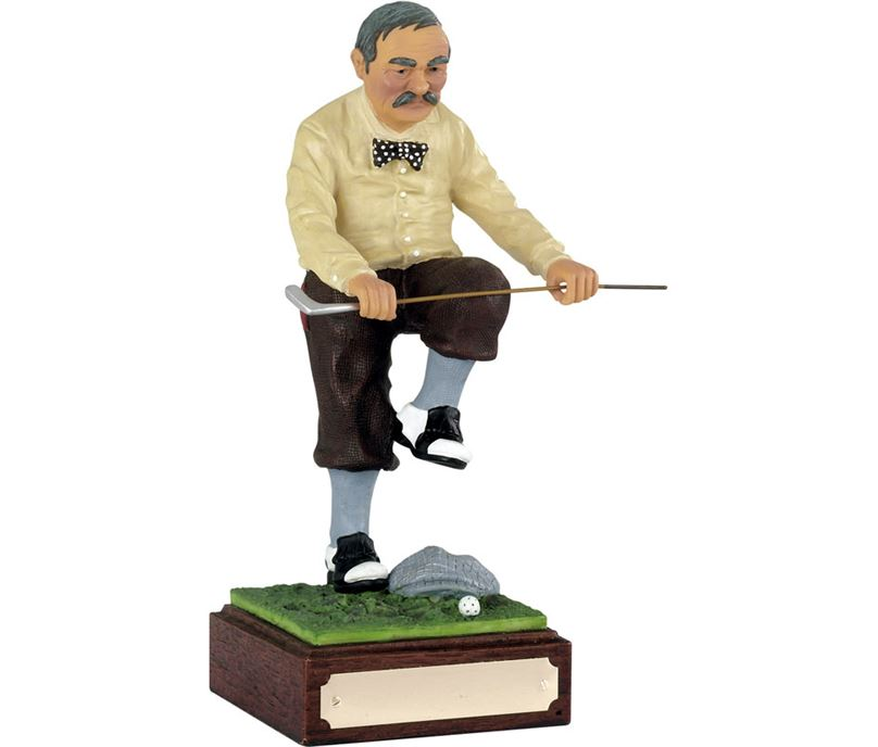 """Sell the Clubs - Large Novelty Golf Figure 21.5cm (8.5"""")"""
