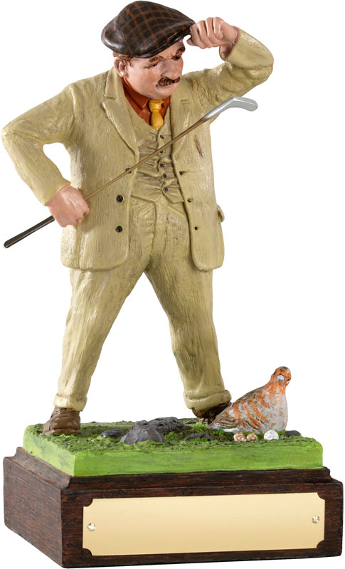 "Foul Play - Large Novelty Golf Figure 20.5cm (8"")"