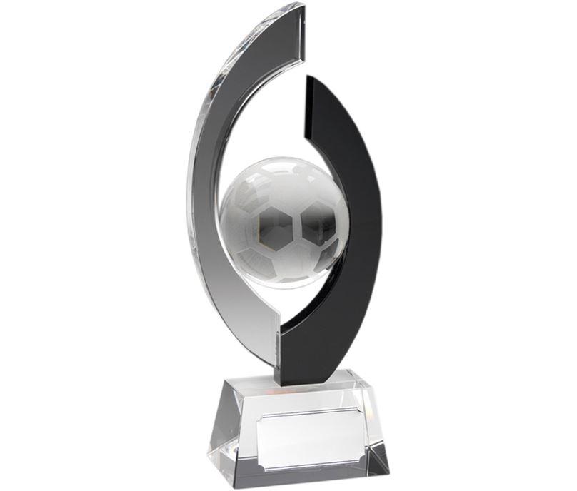 "Arc Glass Football Trophy 18cm (7"")"