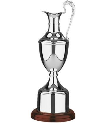 """Silver Plated Golf Champions Claret Award 46.5cm (18.25"""")"""