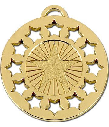 "Gold Constellation 50 Medal 50mm (2"")"