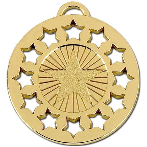 "Gold Constellation 50 Medal 50mm (2"")"