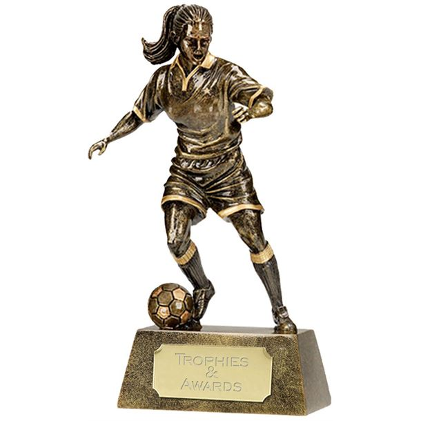 "Resin Female Player 22cm (8.75"")"