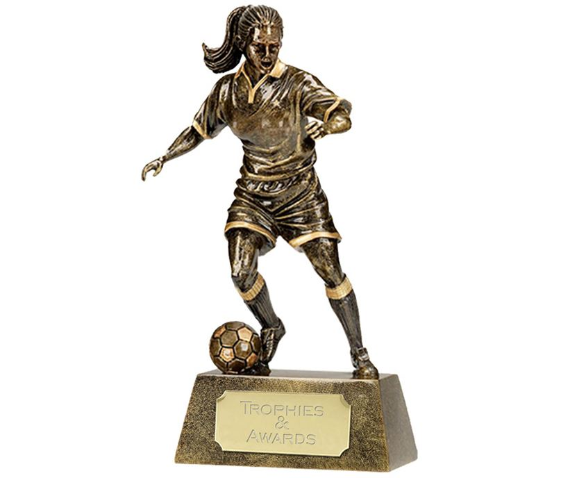 "Resin Female Player 15cm (6"")"