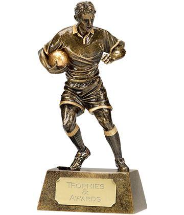 """Resin Rugby Pinnacle Player 18.5cm (7.25"""")"""