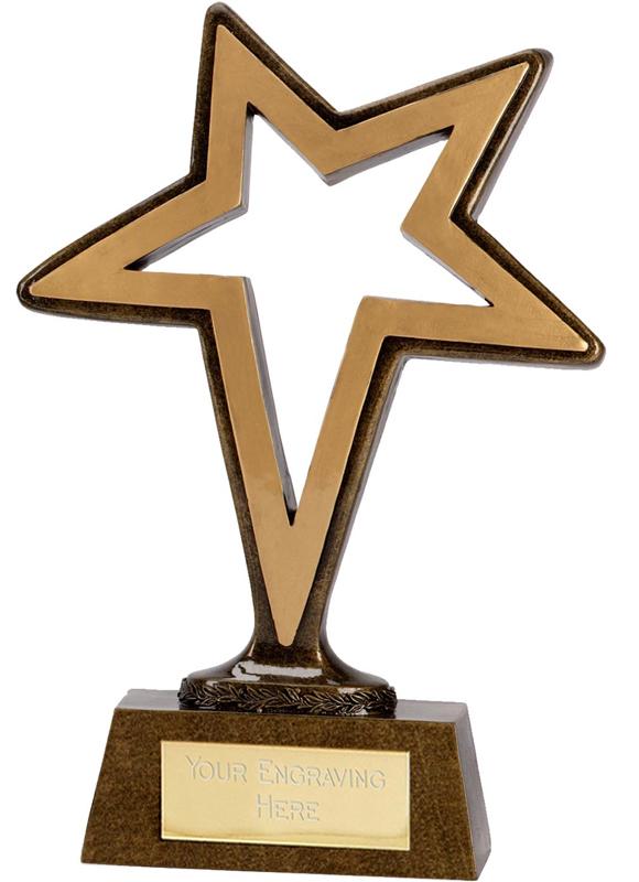 """Gold Pinnacle Star 24cm (9.5"""")"""
