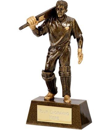 "Gold Batsman 18.5cm (7.25"")"