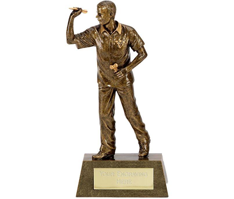 "Antique Gold Dart Man 18.5cm (7.25"")"