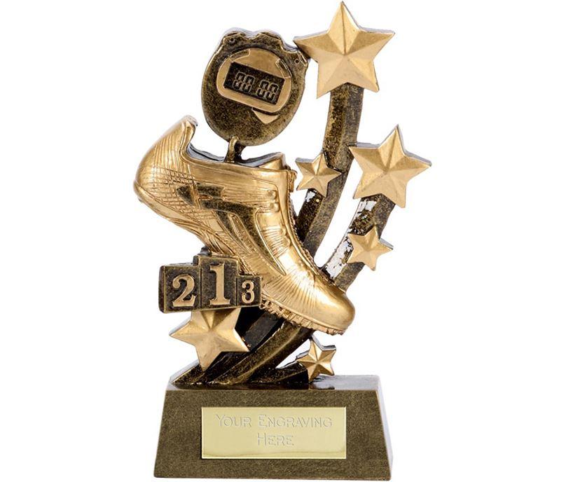 "Sentinel Athletics Running Trophy 15cm (6"")"