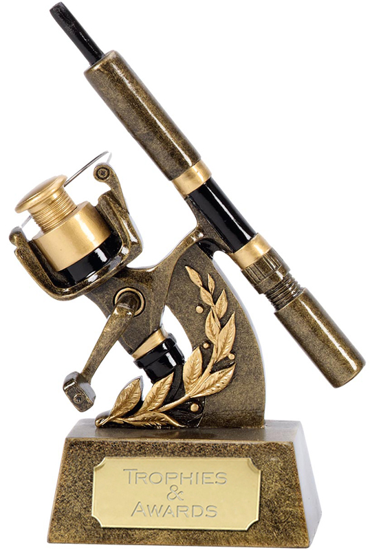 """Pinnacle Fishing Reel Trophy 18.5cm (7.25"""")"""