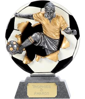 "X-Plode 2D Football Trophy 12.5cm (5"")"