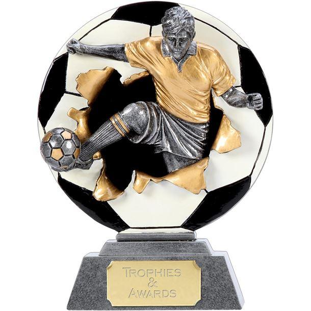 """X-Plode 2D Football Trophy 23cm (9"""")"""