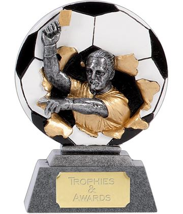 "X-Plode 2D Referee Football Trophy 12.5cm (5"")"