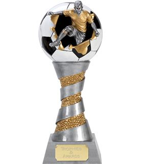 "X-Plode 3D Football Trophy 25.5cm (10"")"