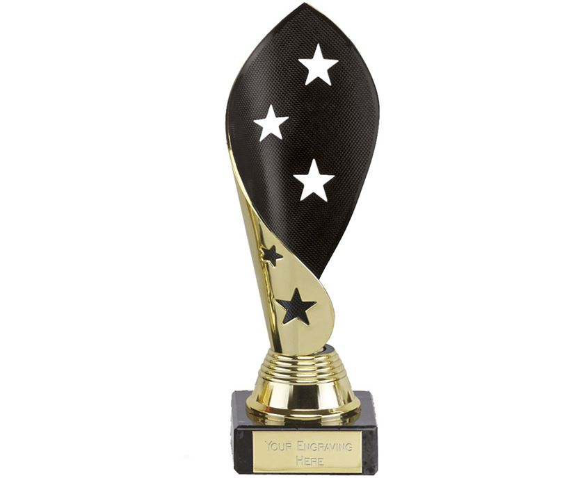 "Festival Star Gold and Black Award 17cm (6.75"")"