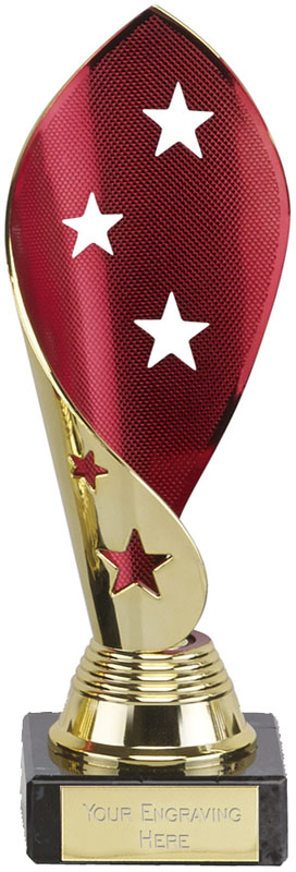 "Festival Star Gold and Red Award 17cm (6.75"")"