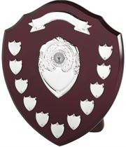 "Top Scroll Perpetual Presentation Shield 35.5cm (14"")"