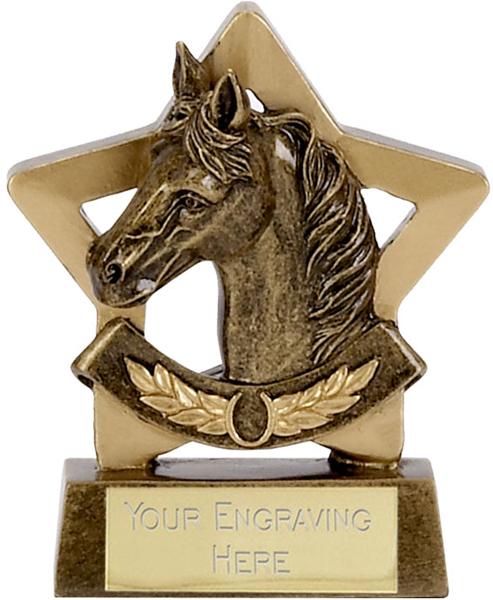 """Mini Stars Equestrian Award 8.5cm (3.25"""")"""
