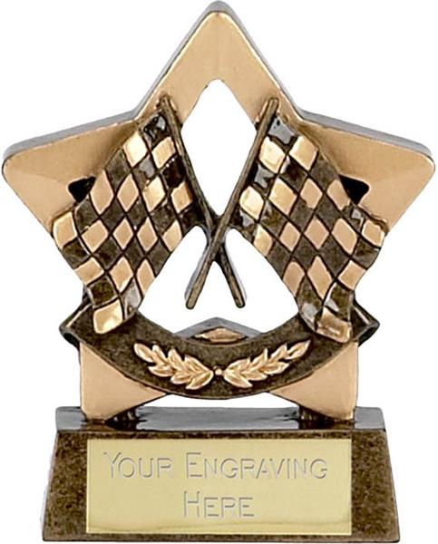 "Mini Stars Motor Sport Trophy Award 8.5cm (3.25"")"