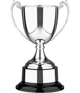 """Silver Plated Colonial Presentation Cup with Plinthband 18cm (7"""")"""