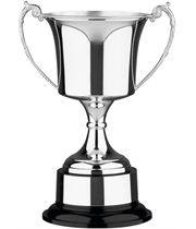 "Traditional Silver Plated Presentation Cup with Plinthband 28.5cm (11.25"")"