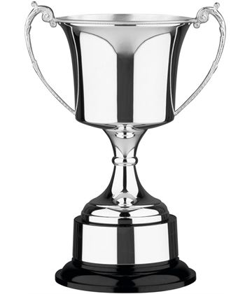 "Traditional Silver Plated Presentation Cup with Plinthband 23.5cm (9.25"")"