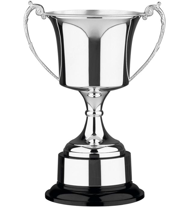 "Traditional Silver Plated Presentation Cup with Plinthband 43cm (17"")"