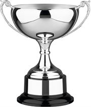 """Olde English Silver Plated Presentation Cup with Plinthband 23cm (9"""")"""