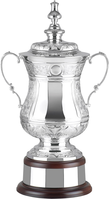 "Silver Plated Hand Chased Masters Challenge Presentation Cup 48.5cm (19"")"