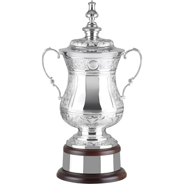 """Silver Plated Hand Chased Masters Challenge Presentation Cup 48.5cm (19"""")"""