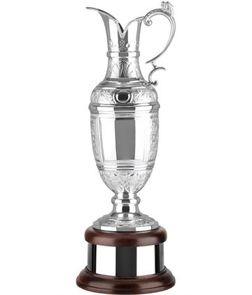 """Golf Champions Silver Plated Hand Chased Claret Jug 46.5cm (18.25"""")"""
