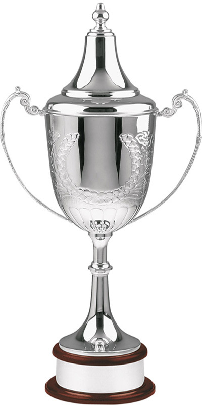 "Silver Plated Hand Chased Champions Presentation Cup 81cm (32"")"