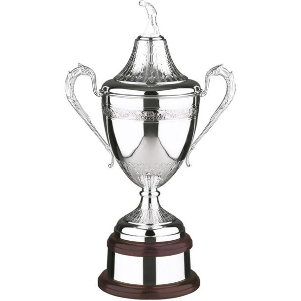 """Ultimate Silver Plated Golf Champions Presentation Cup 53.5cm (21"""")"""