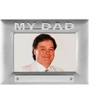 Silver Satin Finish My Dad Photo Frame 18cm x 13.5cm