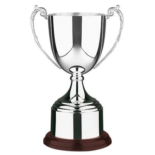 "Patriot Silver Plated Short-Stem Presentation Cup 23cm (9"")"