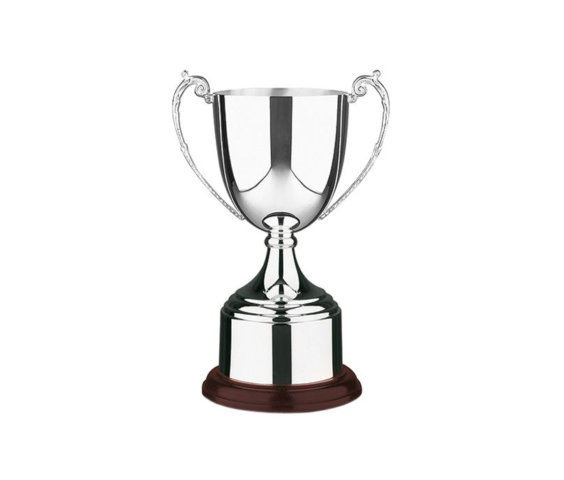 "Patriot Silver Plated Short-Stem Presentation Cup 28.5cm (11.25"")"