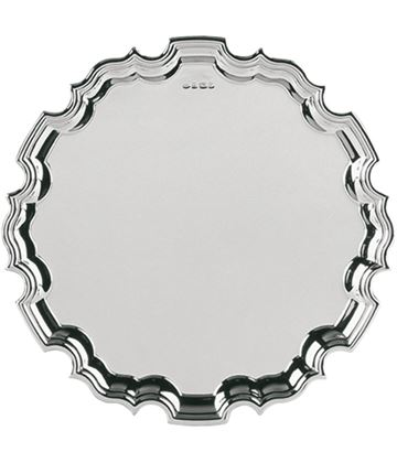 "Hallmarked Sterling Silver Salver Tray 25cm (10"")"