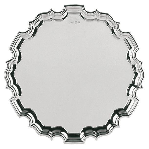 "Hallmarked Sterling Silver Salver Tray 25cm (10"")"