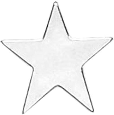 Silver Star Lapel Badge 16mm