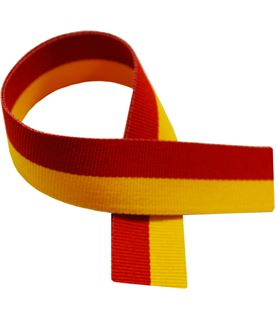 "Red & Yellow Medal Ribbon 80cm (32"")"