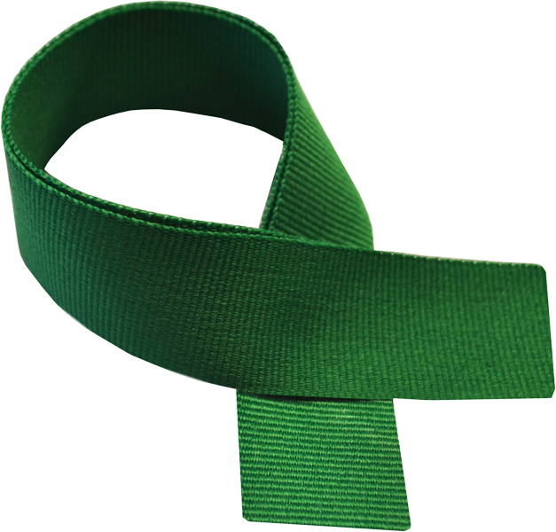 "Green Medal Ribbon 76cm (30"")"
