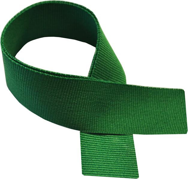 "Green Medal Ribbon 76cm (30"")"