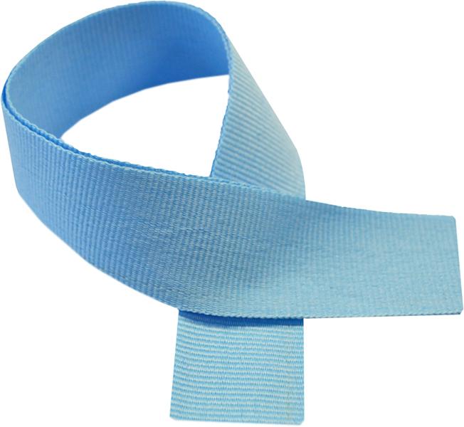 """Light Blue Medal Ribbon 76cm (30"""")"""